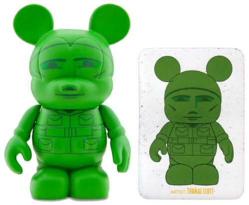 Buy Low Price Disney Army Man by Thomas Scott – Disney Vinylmation 3″ Toy Story Series Designer Figure (Disney Theme Parks Exclusive) (B0048Q05WA)
