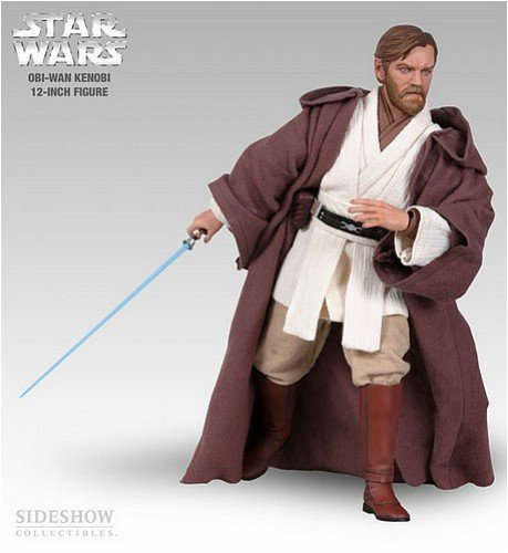 Buy Sideshow Star Wars Obi-Wan Kenobi 12″ Action Figure