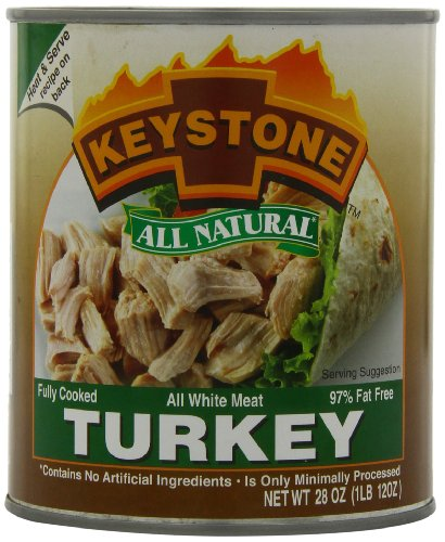 Keystone Meats All Natural Canned Turkey, 28 Ounce (Keystone Canned Meat compare prices)