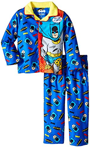 Batman Little Boys' Batman Long Sleeve Coat Set with Panel at Gotham City Store