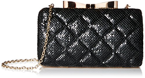 la-regale-mesh-quilted-minaudiere-clutch-black-one-size