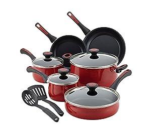 Paula Deen 12 Piece Riverbend Aluminum Nonstick Cookware Set