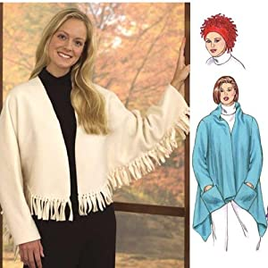 McCalls 4175 Western Style Fringe Crop Jacket by PatternCenter