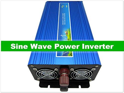 Gowe onda sinusoidale pura power inverter 1500W, DC/AC inverter per vento/PV Sistema solare, DC12/24/48A AC110-120V, ac220- 240V