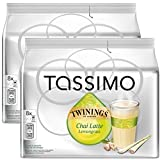 Bosch Tassimo 'Twinings Chai Latte Lemongrass Tea' T Disc Coffee Machine Capsules (2 Packs of 8 Servings)