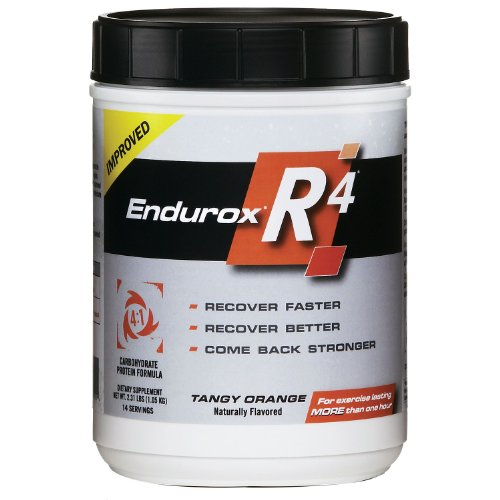 Pacific Health Endurox R4 Tangy Orange Recovery Drink Mix - 14 Servings