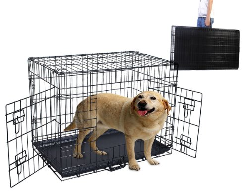 Plastic Collapsible Dog Crate