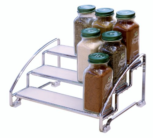 Kitchen Cabinet Spice Rack Organizer: Spice Rack Organizer Shelf 3 Tier Kitchen Storage Cabinet