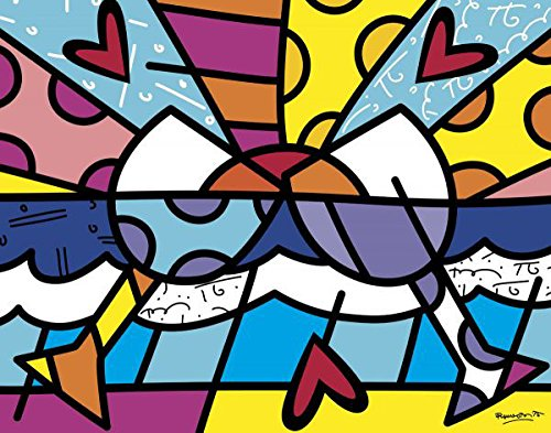 Cheers by Romero Britto Poster