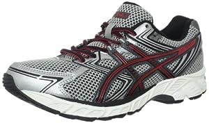 ASICS Men's GEL-Equation 7 Running Shoe,Lightning/Onyx/Red,8.5 M US