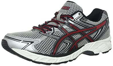 ASICS Men's GEL-Equation 7 Running Shoe,Lightning/Onyx/Red,7 M US