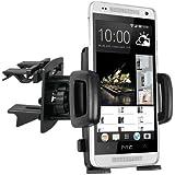 mumbi KFZ Lüftungsgitter Halterung HTC One Mini Vent Mount Kugelgelenk Autohalterung
