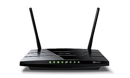 TP-Link Archer C5 V2.0 Routeur Gigabit WiFi Double Bande AC1200 (2.4GHz 300 Mbps, 5GHz 867Mbps, 5 Ports Gigabit, 2 Ports USB)