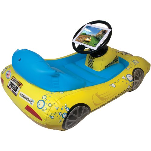 Nic-Sik The New Ipad(R) 3Rd Gen Spongebob Squarepants; Inflatable Sports Car front-524026