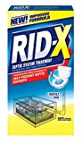 RID-X Septic Tank System Treatment Powder, 1-Dose Powder, 9.8 Ounce (Case of 12)