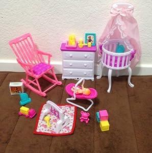 Amazon Barbie Size Dollhouse Furniture Gloria Baby