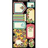 Graphic 45 Bohemian Bazaar Cardstock Tags & Pockets