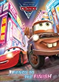 img - for Friends to the Finish (Disney/Pixar Cars 2) (Deluxe Coloring Book) book / textbook / text book