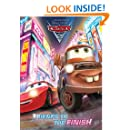 Friends to the Finish (Disney/Pixar Cars 2) (Deluxe Coloring Book)