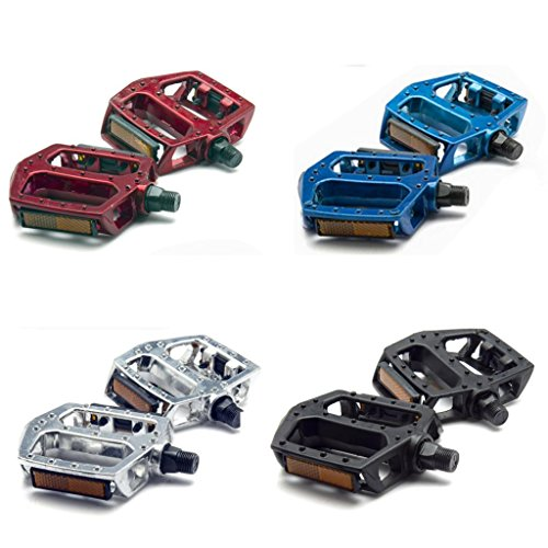 New Aluminium Alloy Bike Pedals For Mountain And Road Bicycle Cycling