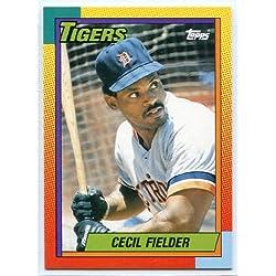 Cecil Fielder - 1990 Topps Traded #31 - 来日外国人(阪神) セシル・フィルダー