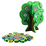 DDLBiz Childhood Learning Education Wooden Toys Kids Wood Building Blocks Tree Early