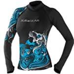Sub Gear Rash Guard Women Long Sleeve...