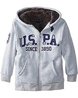 U.S. Polo Assn. Big Boys' Fleece Hooded Jacket
