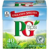 PG Tips Pyramids, Black Tea 40 Count