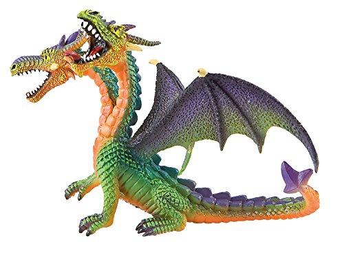 Bullyland Fantasy: Double Headed Green Dragon
