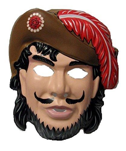 Economy Captain Hook PVC Mask