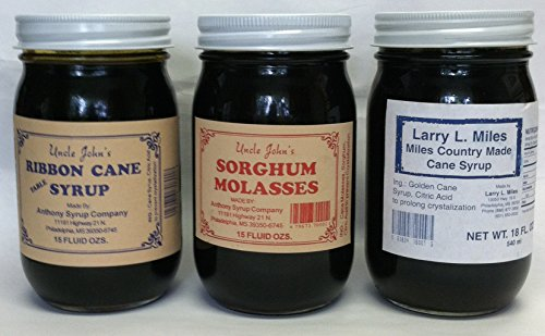 Taste of the South Sampler Ribbon Cane Syrup,