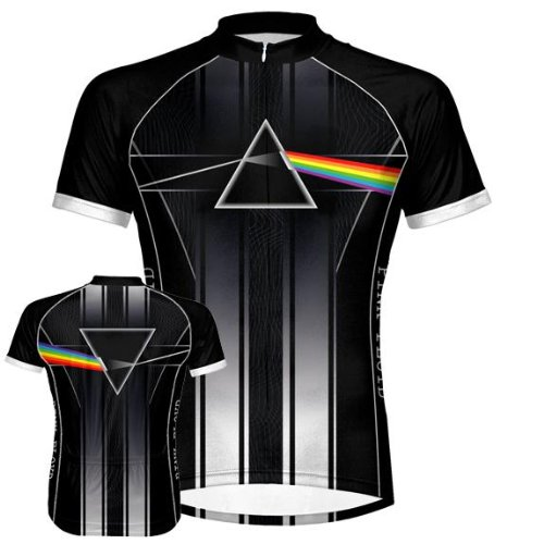 Buy Low Price Pink Floyd – Team Dark Side Cycling Jersey (B003DWGASI)
