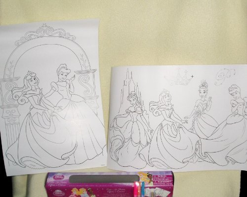 Disney Princess Color in Posters by Tri-costal design - 1