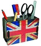 """Werkhaus - Stiftehalter, Pendbox """"Flagge England"""" Holzwerkstoff (PP2148)"""