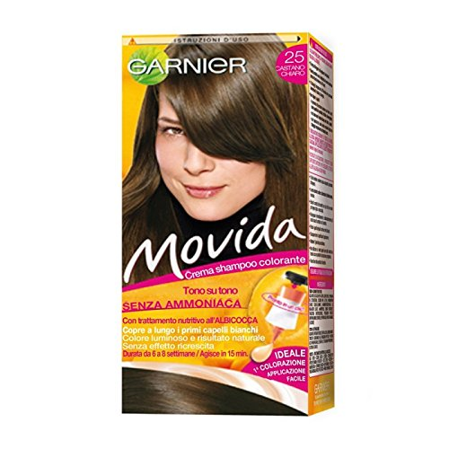 Movida Shampoo Color N 25 Castano Chiaro