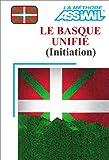 echange, troc Assimil - Collection Langues Régionales - Le Basque unifié : Initiation (1 livre + coffret de 4 cassettes)