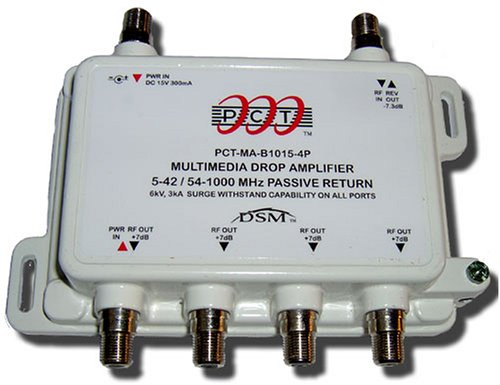 Cable Tv Booster : Receivers amplifiers port cable tv hdtv digital