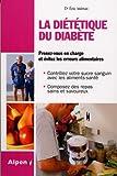 Di�t�tique du Diabete (la) par M�nat