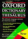 img - for The Oxford Dictionary and Thesaurus: The Ultimate Language Reference for American Readers book / textbook / text book