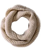 Women Lady Girls Women Warmer Thick Knit Wool Soft Infinity Neck Long Loop Circle Ring Scarf Cowl Hood Shawl Neckerchief