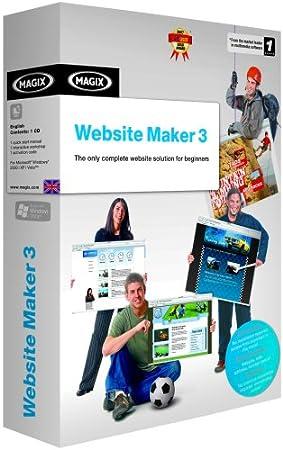 Magix Website Maker 3 (PC DVD)