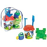 AVC - Pat Perro, mochila de playa con cubo y accesorios (16046)