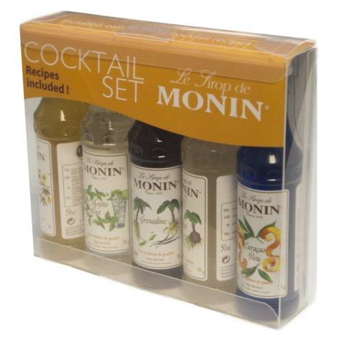 Monin Flavoured Cocktail Gift Set (5 mini bottles)