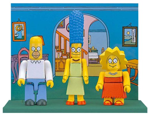 Simpsons Blocko Set 1- Homer, Marge & Lisa Figures