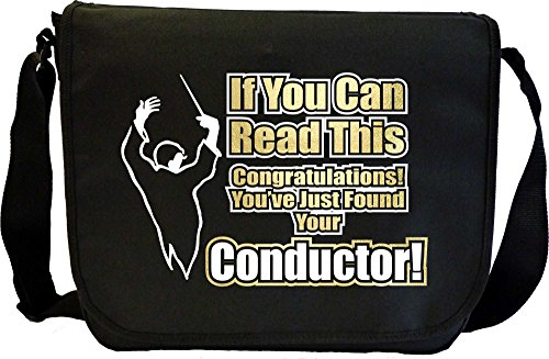 Conductor You Have Found Your - Sheet Music Document Bag Borsa Spartiti MusicaliTee