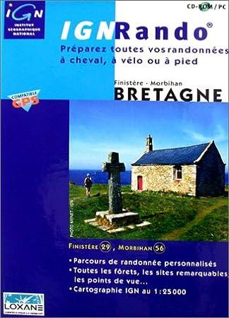 IGN Rando : Bretagne (Finistère - Morbihan)