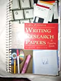 Writing Research Papers: A Complete Guide, Tabbed (0673994503) by Lester