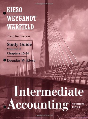 Study Guide, Volume II (Chapters 15-24) to accompany...