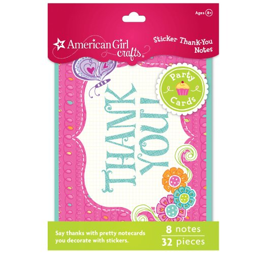 Review Of American Girl Crafts Thank-You Notes
